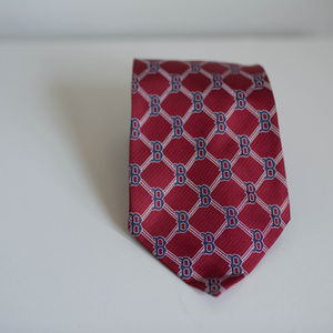 Boston Red Socks Tie 100% silk